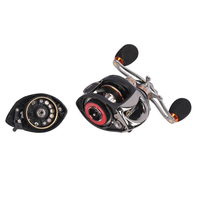 Fishing house of speed to send the 200 + magnetic centrifugal water wheel left / right hand brake double way Yalun fishing reel