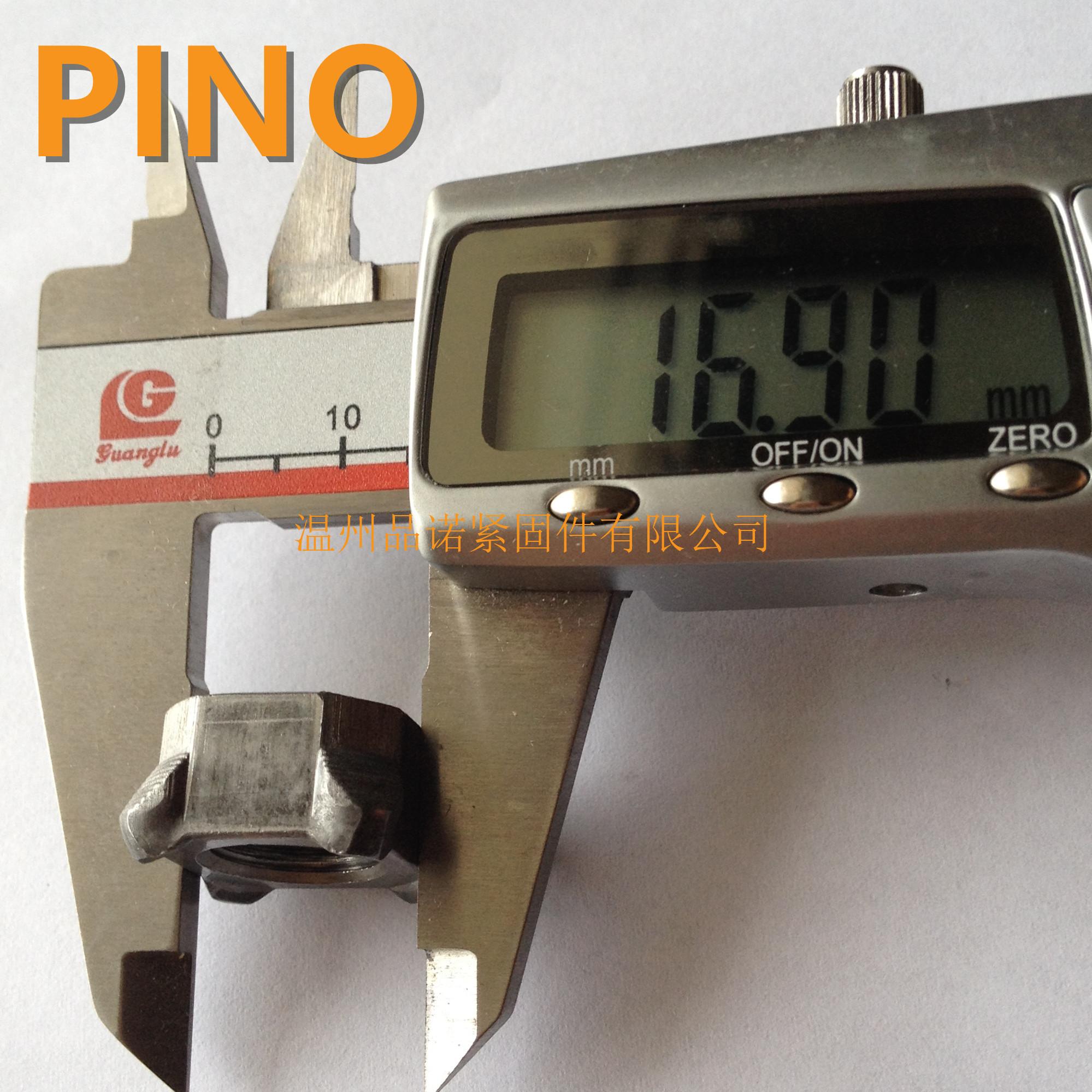 Quatro cantos GB13680 M4, M5, M6 porca soldada, M8, M12, M14, M16, M10, 7/16-20 spot.8) tratamento térmico podem ser personalizados