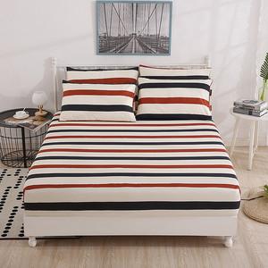 床笠单件全棉纯棉床罩席梦思床垫保护套薄棕垫防滑床单防尘罩全包