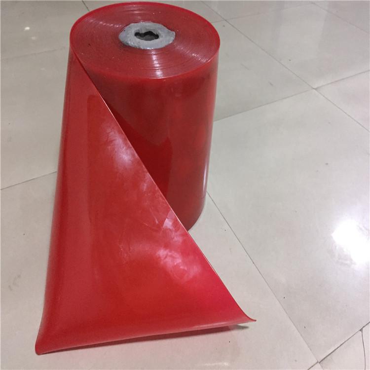 黒白のPVCの軟らかいの暖簾は白黒の赤色の軟らかいガラスの暖簾の暖簾の工場の機械の電気の暖簾のプラスチックの暖簾をします