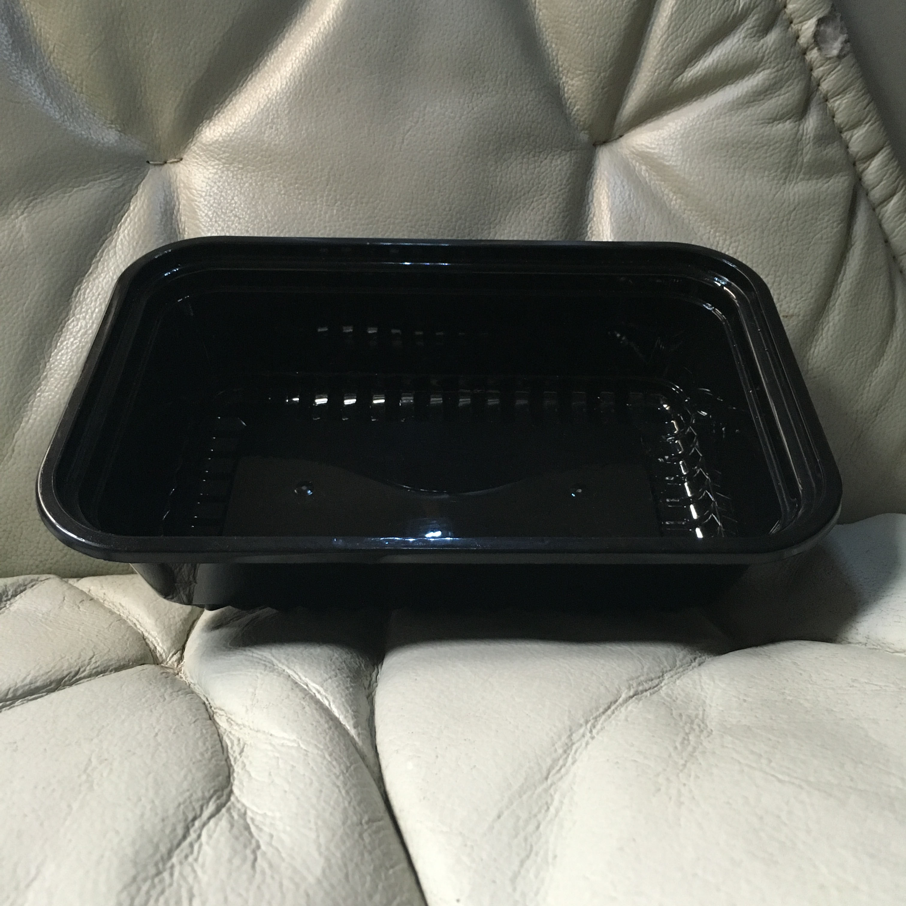 förpackning cylinderampull täcka en engångs - matlåda bevarande - & lunchbox svart plast snabbmat