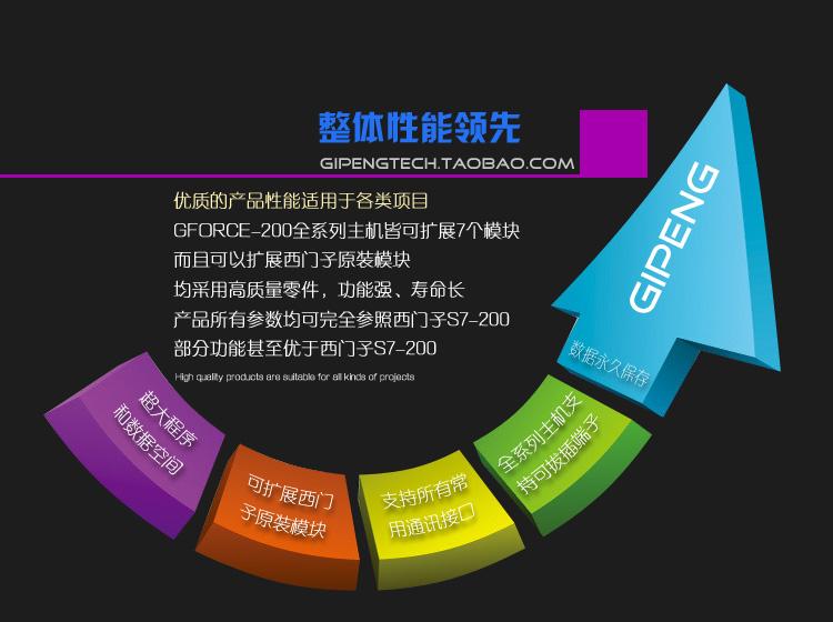 国産互換シーメンスS7-200CPU224XP巨朋PLC帯PLCアナログ入力出力