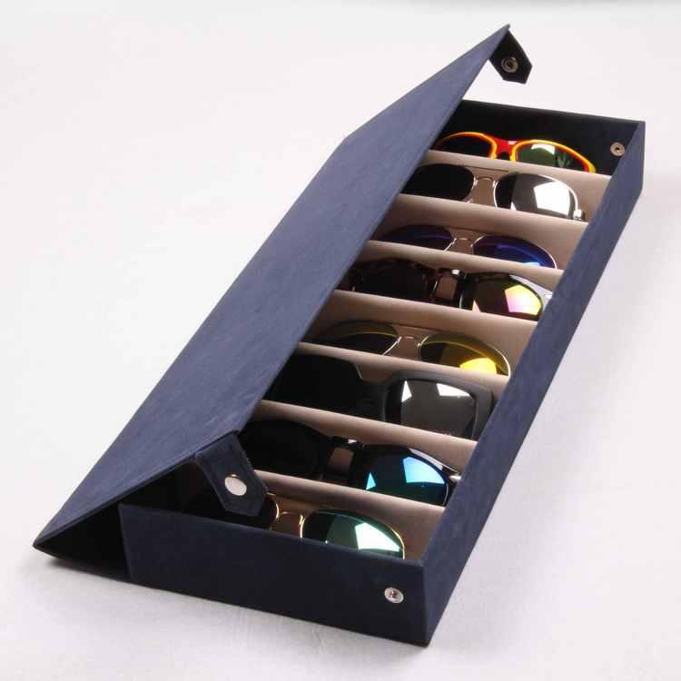 Sunglasses Suede Storage Box Glasses Display Box Storage Box Wholesale  Glasse