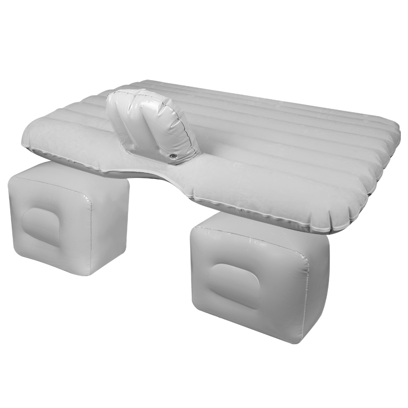 Vehicle inflatable mattress flannelette bed car travel car general air bed after car rear shock bed