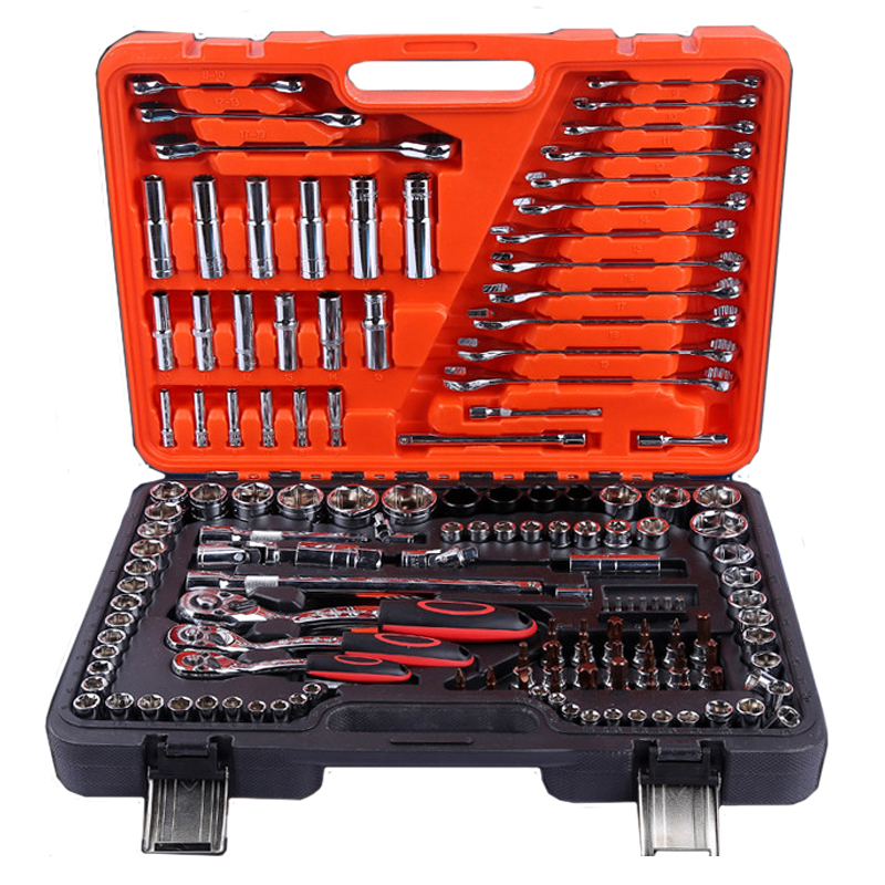 Auto repair tool sets 150 professional multi-function sleeve wrench, special toolbox for car maintenance