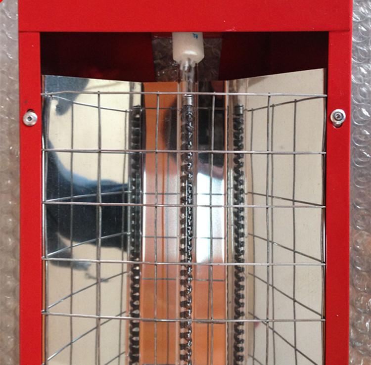 Hochtemperatur - trockenscheunen ofen Infrarot - tunnel kohlefaser - elektrische heizung und beleuchtung) mit der lampenschirm