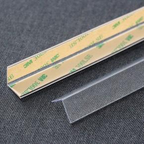 墙纸专用护角条 护墙角保护条 墙护角免打孔透明粘贴阳角收边线条