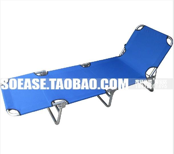портативный складной стальной трубы кровати односпальные кровати / складные кровати / четыре кровати Кровать / НПД / складывать кровать / походная кровать / пляж кровать