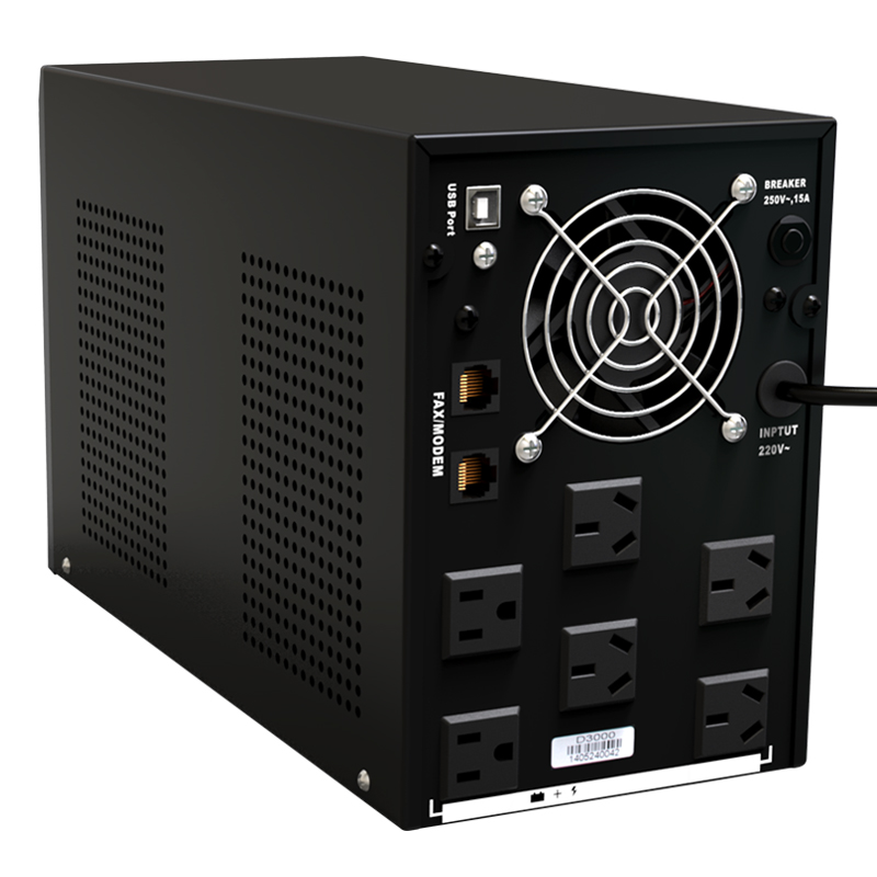Reddy D3000 uninterruptible UPS power 3KVA1800W single computer 2 hours 12 computer available