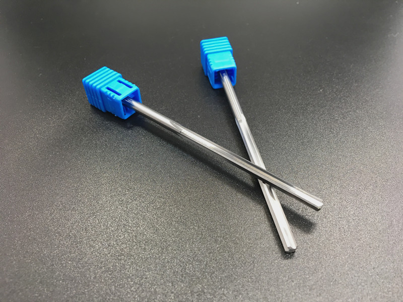 HRC45 hard alloy lengthened reamer 2*100-12*100 tungsten steel tungsten steel reamer reamer machine