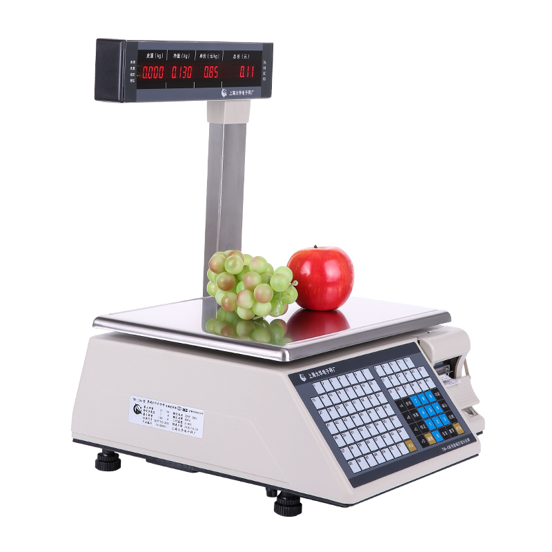 Dahua bar code scale barcode label printing electronic scale tm-a cashier machine supermarket electronic scale