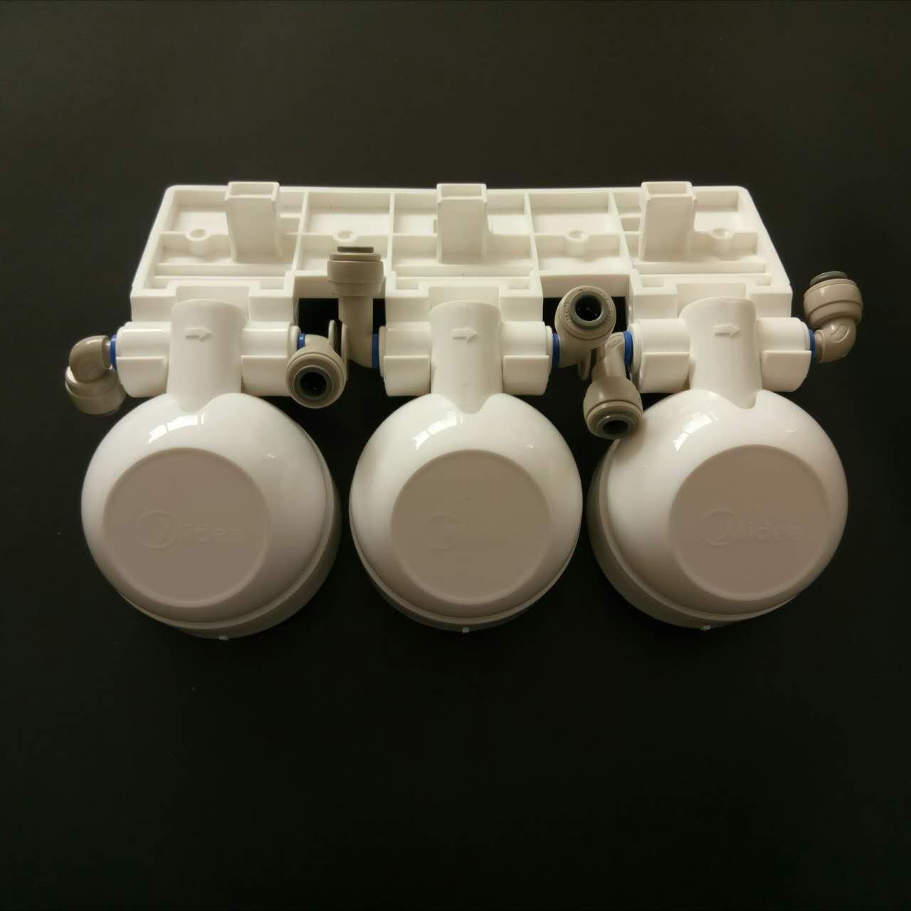 Beautiful water purifier, F1 filter cartridge, valve head, hanging plate joint, MRO201-4/MRO201A-4 special F1 valve head