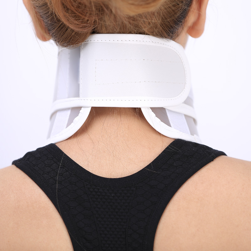 Summer neck collar neck support fixed support household cervical traction breathable stretch neck collar lifting