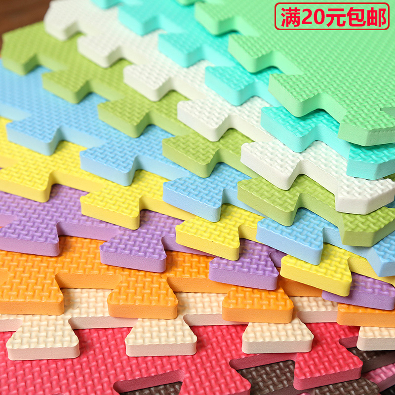 Foam toys household washing room floor covered with tatami mat stitching children crawling thickened puzzle mats