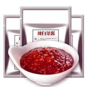 正宗辣白菜调料韩国泡菜辣椒酱调味品 朝鲜白菜腌料400gx3袋自制