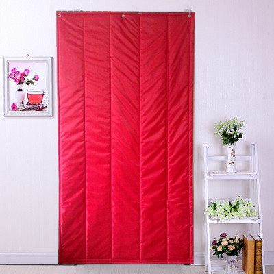 Thick waterproof windproof bathroom sauna room air conditioning bar KTV sound insulation cotton curtains home