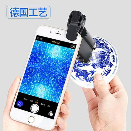보석 LED 등 자기 손에 확대경 데리고 등 휴대전화 확대경 확대경 공용 형식 전자 렌즈