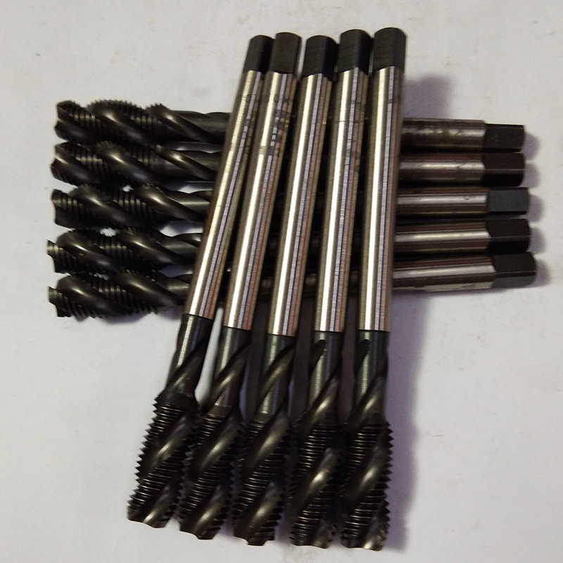 M10x1.25 Spiral Tap, Japan imported OSG machine tap cobalt plating superhard HSSE cobalt high speed steel