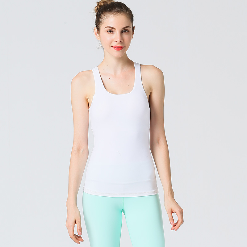Los ejercicios de yoga de secado rápido, cómodo abrigo mujer chaleco de nylon de alta resistencia con gimnasio a correr cada uno.