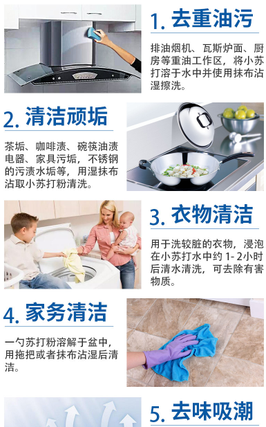 Clothes, soda bottle, bathroom cleaning, laundry decontamination, practical soda powder trough washing household package mail