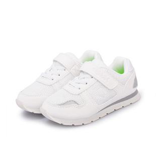 泰兰尼斯儿童运动鞋男童团购学生运动会超轻白跑鞋女童运动小白鞋
