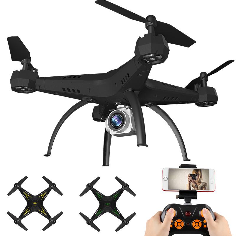 Suuri nelitahtinen miehittämättömän ilma-auton HD-ammattikäyttöön HD teräväpiirtoinen kaukosäädin lentokoneen helikopteri malli