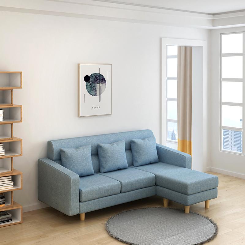 Μόνο που 双三 κουνμίνγκ καναπέ - κρεβάτι νέα οικονομική και εφαρμόζεται προσωρινά φτηνό ύφασμα είναι πακέτο μετά την παράδοση.