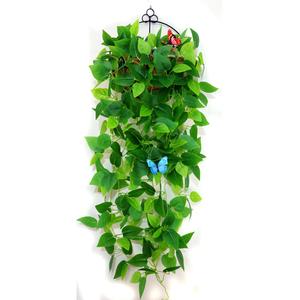 仿真植物假花藤条绿色绿叶绿植绿萝叶子吊兰室内壁挂装饰挂墙垂吊