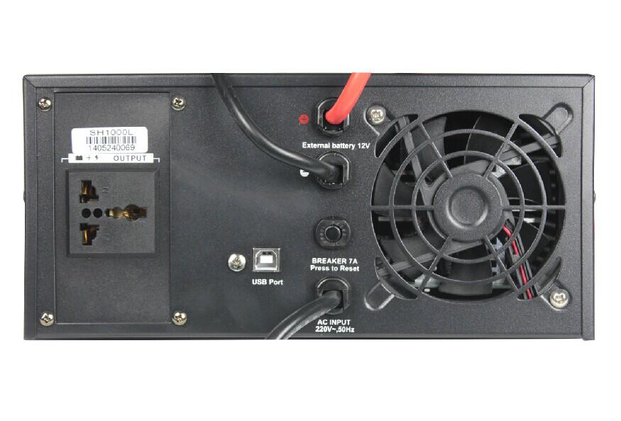 Für sinusförmige reddys UPS SH1000L externe 12V1000VA600W Lange Verzögerung