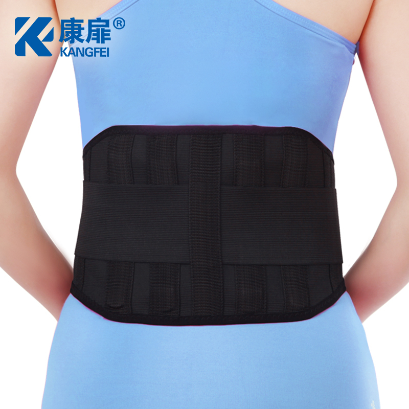 Waist care belt, male and female driver driving sedentary, office belt, spine deformation prevention, steel waist protection