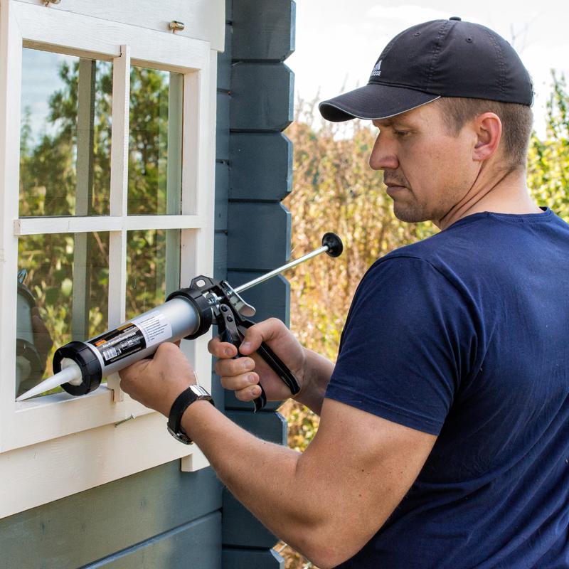Pistola de pegamento y gas de vidrio caucho endurecido Cuadro herramientas de reparación para los fabricantes de azulejos Tuba trompeta eléctrica taladro taladro taladro