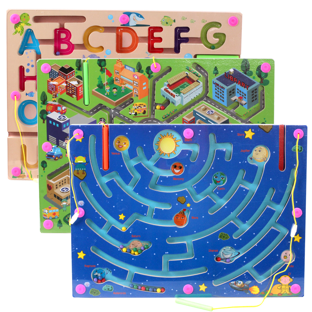 - mai devreme pen - magnetic labirint nizza magnet jocuri puzzle jucării 6 5.