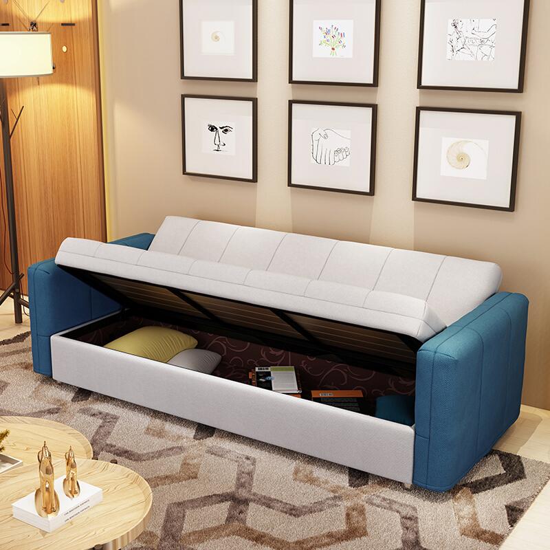 Τον καναπέ - κρεβάτι πτυσσόμενου διπλό συνοπτική ανακληνώμενα μικρό διαμέρισμα μια πολυλειτουργική αποθήκευση απλό σύγχρονη