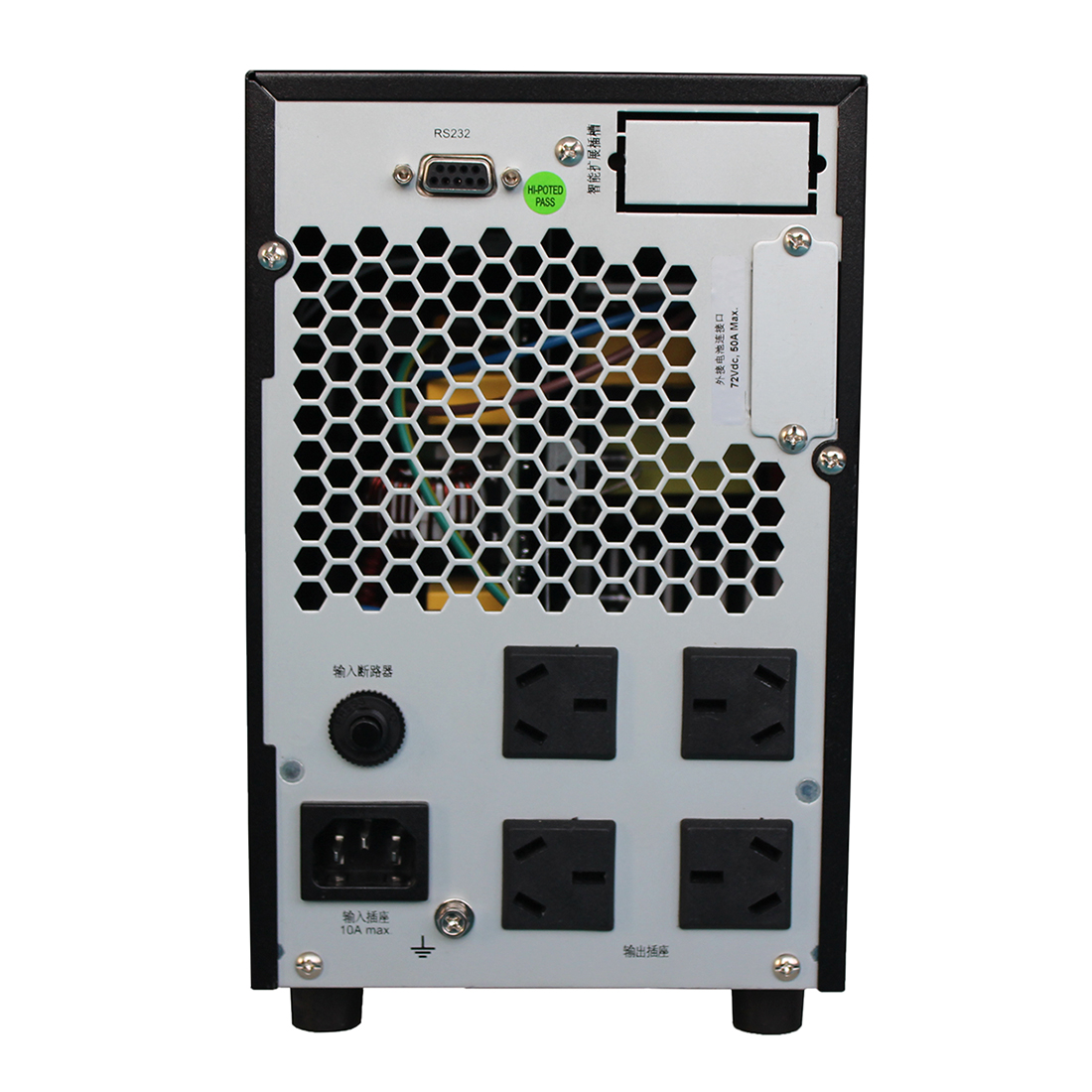 En la División de G2KL2KVA Reddy UPS 1600W prolongar la batería de 6 horas 38AH 1