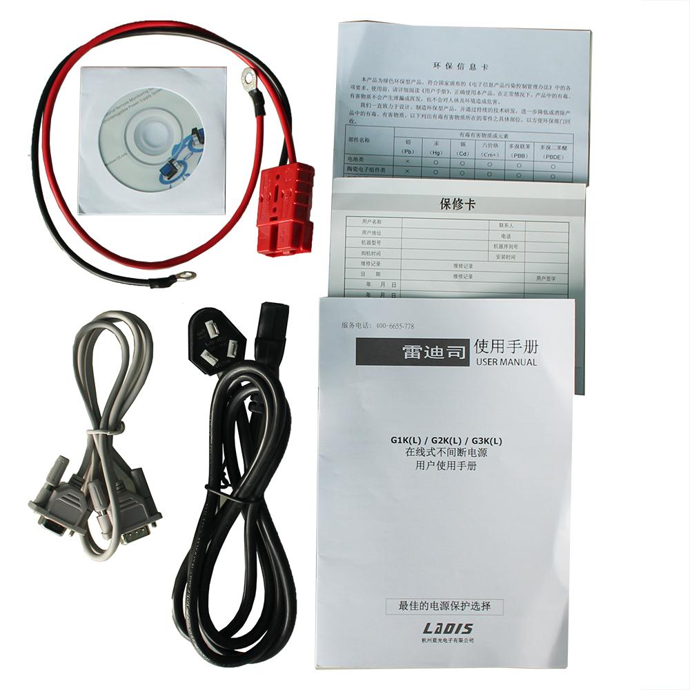 Рэй ди отдел бесперебойного питания UPS G1KL онлайн типа 1KVA800W длительные задержки принимающих жк - 36v тока