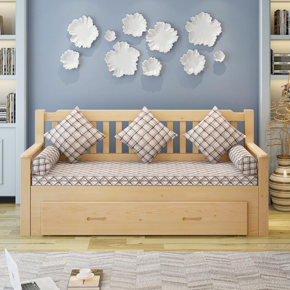 μινιμαλιστικό σαλόνι καναπέ κρεβάτι πίεσε και τράβα πτυσσόμενου μικρό διαμέρισμα 1,8 m 1,5 m πολλαπλών λειτουργιών αποθήκευσης