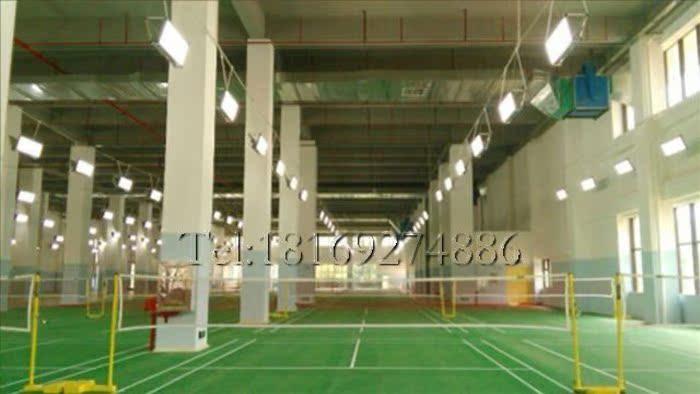 Stadio Arena Indoor di piume di piume da Badminton seDi di lampada Speciale ha portato Due lati 128 Watt