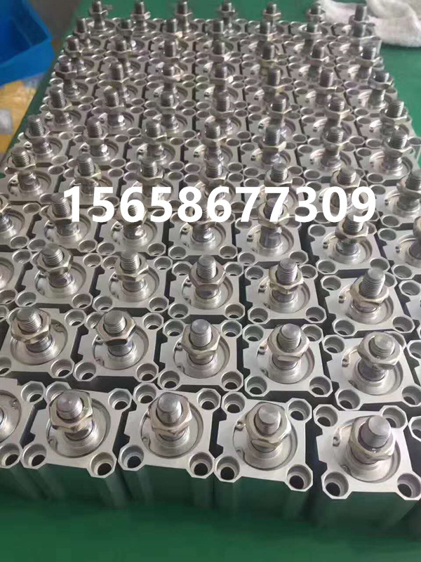Pneumatic SDA50-40B/45B/50B/60B/75B/100B thin cylinder external teeth