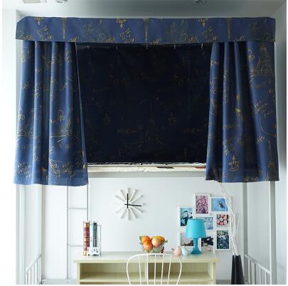 El mosquitero de la residencia de estudiantes de 1 m de la cama cama personalizado polos Aires grueso de acero inoxidable de la cortina.