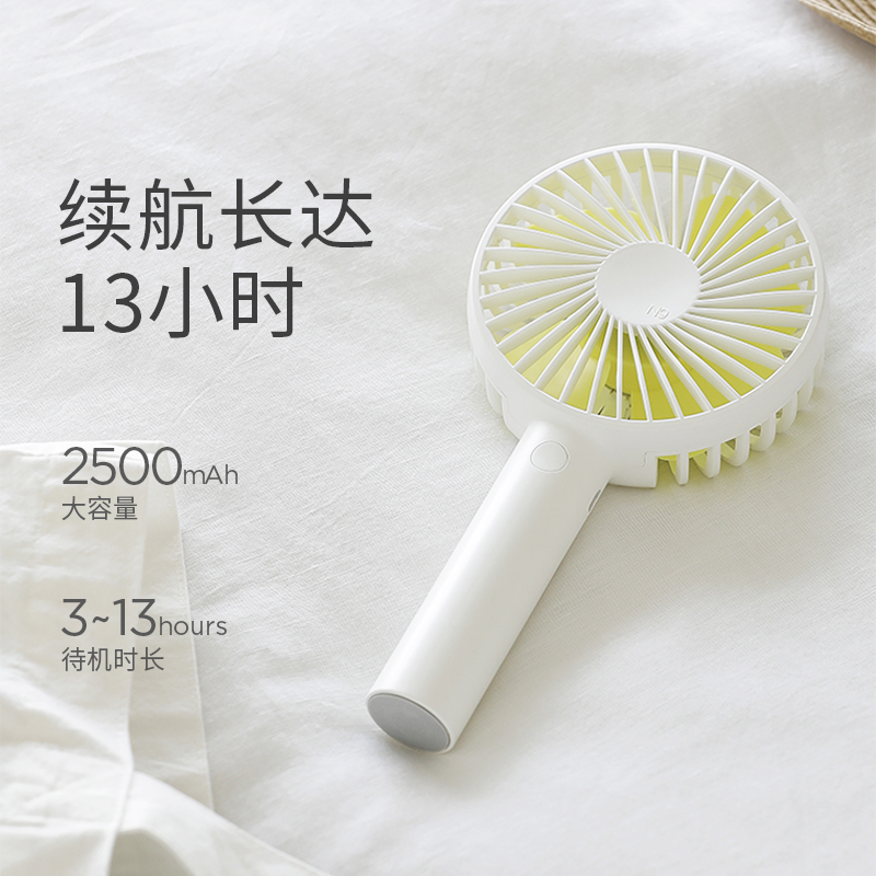 Goed idee, Zuid - Korea, Japan, mini - fan oplaadbare po USB - Fan - grote wind.