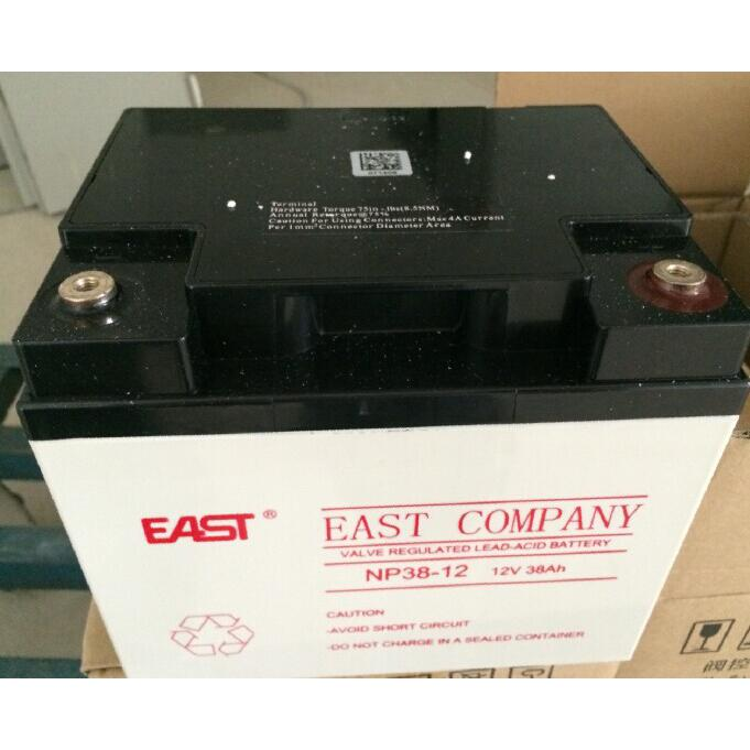 Spot EAST EAST 12V38AH lead-acid battery model NP38-12 spot sale UPS special