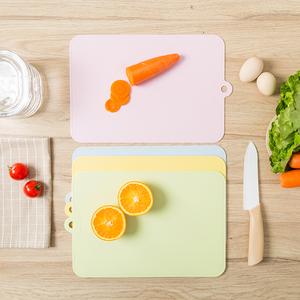 家用切水果砧板小号菜板塑料垫切板切菜板薄抗菌防霉案板蒸板粘板