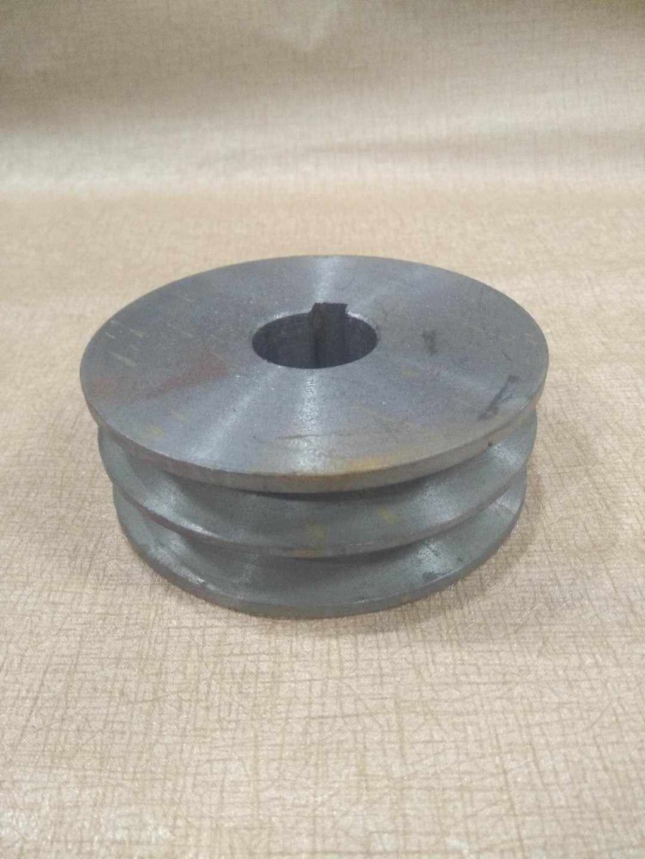 клиноремённый шкив чугун автомобильный ремень диск двойной Groove типа A диаметром 60 мм диаметр 24