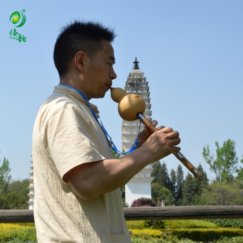 Yunnan Dai Yun hulusi B. C a rebajar los principiantes de bambú para adultos y niños la entrada natural de instrumentos musicales