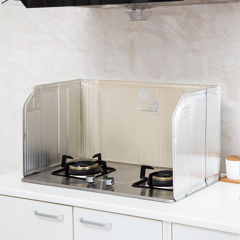 De haard van de warmte - isolerend plaatje isolatie van aluminiumfolie muur spatscherm 囜 een pad.