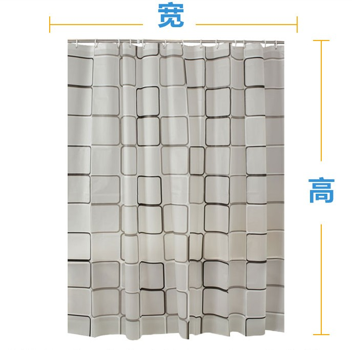 Drilling, mildew proof, partition door, waterproof toilet, bathroom door curtain, curtain block cloth, European style waterproof