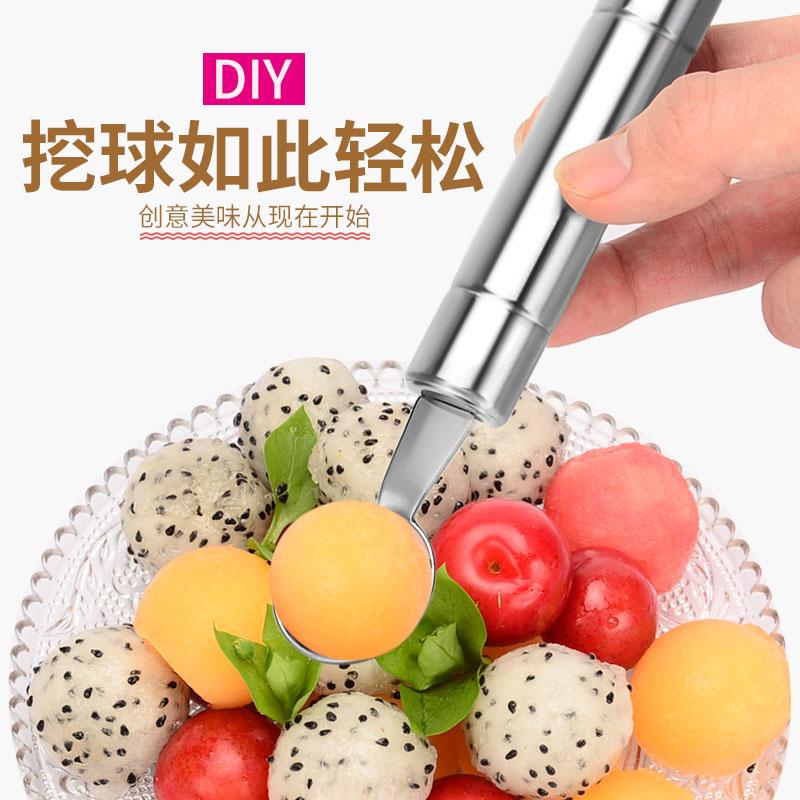 Roestvrij staal, multifunctionele tuba groenten cutter watermeloen snijdt het artefact snijmachine appels - meloen
