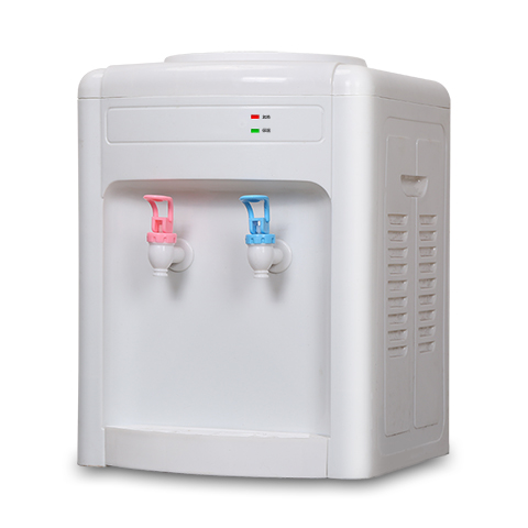 Desktop refrigerating drinking machine cold warm home office collocation mini type water purifier of bottled water