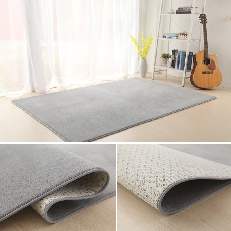 Large tatami mats thickened continental dry cleaning simple bedside carpet modern anti-skid floor bedroom warm