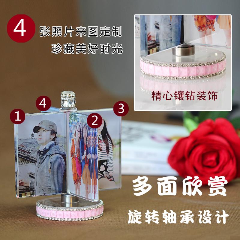 DIY album tặng sinh nhật bạn gái trai sáng tạo hình ảnh người yêu sách tùy chỉnh các món quà Giáng sinh.